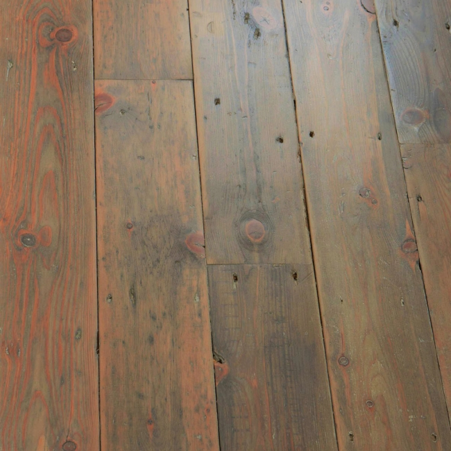 reclaimed Victorian and Edwardian Pine floorboards