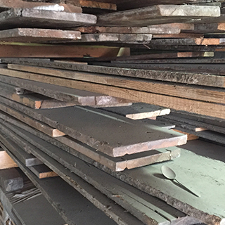 We have a huge stockholding of reclaimed floorboards for use in Listed Buildings and Conservation Projects