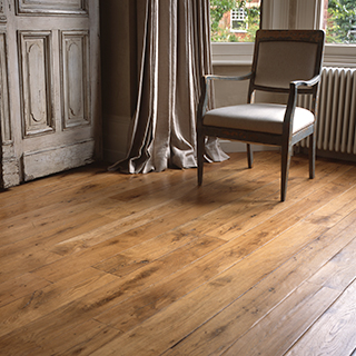 Timeworn 2 texture gives a more rustic and characterful appearance to your reclaimed floor