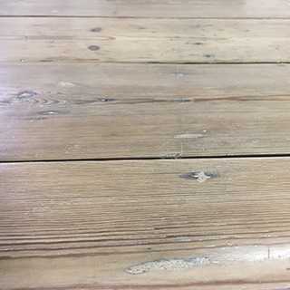 some reclaimed boards can be Planed All Round (PAR) to reveal fresh timber whilst retaining nail holes, shakes etc