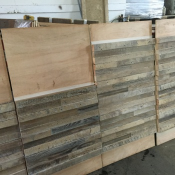 wide range of cladding panels crafted from reclaimed timbers for domestic or commercial interiors. We help yo make your design ideas a reality with a range of engineering solutions to reduce weight and hide wall fixings