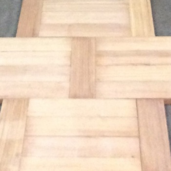 Reclaimed Parquet Woodblocks, many types in stock, fully cleaned, kiln-dried and engineered ready for re-laying